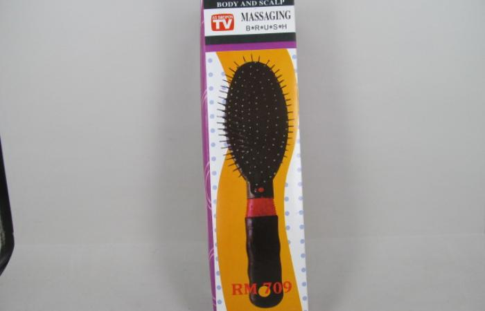 Therapy plus body and scalp massaging brush RM 709